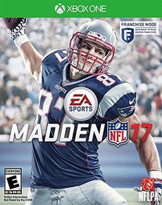 Madden NFL 17 is an American football sports video game based on the National Football League and published by EA Sports for the PlayStation PlayStation Xbox One and Xbox As the installment of the Madden NFL series, the game was released on August Jeux Xbox One, Xbox One Games, Ps4 Games, Games Consoles, Playstation Games, Nfl Football, American Football, Football Helmets, Xbox 360