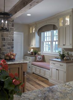 Gentleman's Farmhouse at Yellow Rose Farm - Pohlig Custom Homes Custom Home Designs, Custom Homes, Beautiful Kitchens, Beautiful Interiors, Kitchen Vignettes, Family Room Walls, New Home Construction, House Inside, Building A New Home