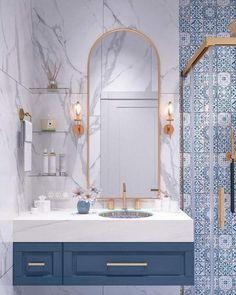 Modern Bathroom Tile Design, Trends 2020 Modern bathroom design trends offer spectacular tiles for decorating walls and floors in 2020 SEE DETAILS. Modern Bathroom Tile, Bathroom Tile Designs, Bathroom Layout, Bathroom Interior Design, Bathroom Ideas, Bathroom Organization, Bathroom Storage, Bathroom Cabinets, Bathroom Mirrors