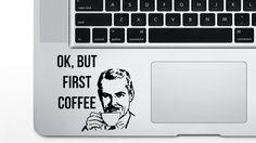 Lunar White Macbook Keyboard Decals by Demon Decal Fits 11 inch Air