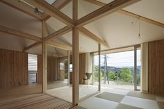 Hybrid Wooden House / Architecture Studio Nolla