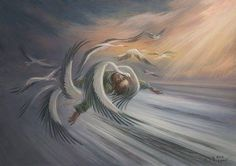 By Oleh Shuplyak Oleg Shuplyak, Illusion Pictures, Baba Yaga, Ukrainian Art, Illusion Art, Buy Paintings, Gods And Goddesses, String Art, Surrealism