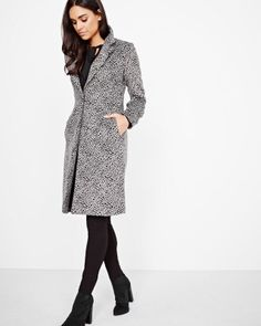 Shop online for Leopard wool-blend duster coat. Find Blazers & Coats, Sale, Women and more at Rwco Waterproof Boots, Jeans For Sale, Bright Pink, Wool Blend, Duster Coat, Lifestyle, My Style, Jackets, Shopping