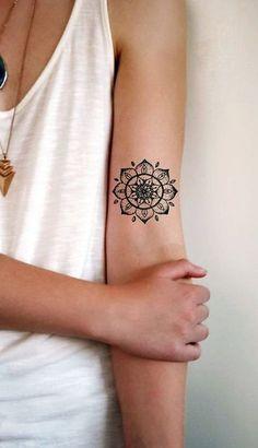mandala tattoo design for women
