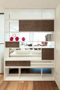CASA L+L: Ingresso & Corridoio in stile di Studio Associato Casiraghi