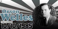 10-10-1985 fallece Orson Welles  #taldiacomohoy