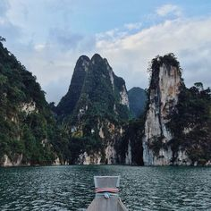 20 Stunning Getaways You'll Want To Take Now #refinery29  http://www.refinery29.com/afar-instagram-travel-photos#slide-3  Destination: Khao Sok National Park, Thailand Heading to Thailand? Hop on a boat to get a stunning and up-close view of the lush Khao Sok National Park.