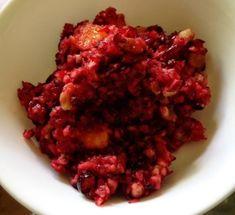 Orange Cranberry Salad | @fairyburger @ fairyburger