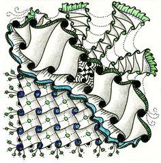 "• ❃ • ❋ • ❁ • tanglebucket • ✿ • ✽ • ❀ •: Weekly Challenge #75: ""Tanglation Nation: Cadent"""