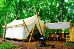 Tent with EnSuite Sized Luxury Camping, Tent Camping, Toronto Travel, Family Tent, Bell Tent, Toronto Life, Summer Travel, Staycation, Brewery