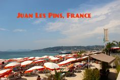 Juan Les Pins, #France, is one of the chicest spots on the French Riviera. But is too chic for les enfants? #familytravel #mappinmonday