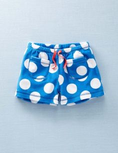 Mini Boden terry shorts. My oldest daughter LIVES in these during the summer