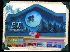 E.T. Adventure @ Universal Studios, Florida. Photo by Marysol Pena