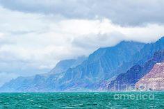 Na Pali Coast of Kauai by Daryl L Hunter Hawaii Landscape, Kauai, Wall Art, Beach, Photos, Outdoor, Outdoors, Pictures, The Beach