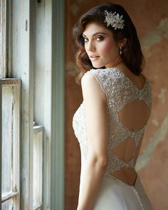 Featuring: style 9306. We're so in love with the back <3 #BridalDebut #WeddingPlanning #AllureBridal #BridalGown #WeddingGown