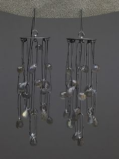 Silver & Stone Earrings Created by Heather Guidero