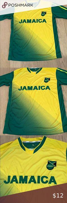 ORRO No Problem Jamaica Team Soccer Jersey ORRO - No Problem - Jamaica Soccer Te... #jamaica #jersey #ORRO #problem #soccer #Team Jamaica, Sport Photography, Plus Fashion, Fashion Tips, Fashion Trends, Colorful Shirts, Soccer, Man Shop, Fitness