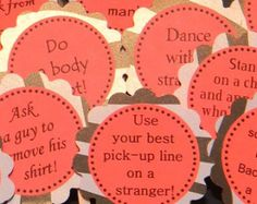 red and black bachelorette party favors | favorite favorited add to added