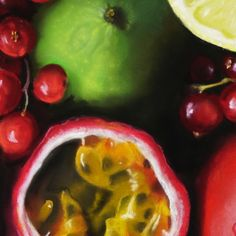 a little snippet of a pastel painting by Swiss painter Thea Herzig  #theaherzig #pastelpainter #fruitdrawings #fruitart #fruitartist #paintingdetail #softpastelartist #softpastelart #foodart Soft Pastel Art, Food Painting, Fruit Art, Drawing S, Food Art, Vegetables, Artist, Veggie Food, Vegetable Recipes
