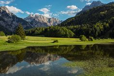 Triglav National Park Slovenia