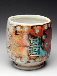 Mark Mark Knott Soda - Fired Yunomi at MudFire Gallery