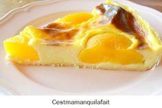 Christophe MICHALAK : son flan aux abricots