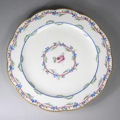 Tableware: A Sèvres Porcelain Dessert Plate, 1788