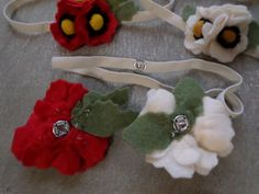 Magical Poppy Snap interchangeable snap on by LavenderLeafDesigns