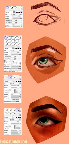 Paint Tool Sai || Brush Settings by Vit4l