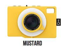 Q Camera- Mustard - LAB | Pinkoi