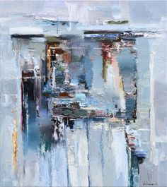 Buy Gray Abstract - 80 x 90 cm - Original Oil Painting, Oil painting by Anastasiya Valiulina on Artfinder. Discover thousands of other original paintings, prints, sculptures and photography from independent artists.