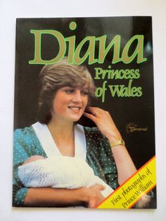 Diana Princess of Wales with first photos of Prince William (1982) by Brenda Ralph Lewis - The Royal Family - Vintage Non-fiction Book