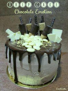 DRIP CAKE CHOCOLATE EMOTION