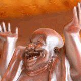 Ecco la storia di tre monaci cinesi. I loro nomi non vengono ricordati, perché non li rivelarono mai a nessuno...entravano in un villaggio, si mettevano in mezzo alla piazza, e iniziavano a ridere. Pian piano altre persone venivano coinvolte da quella risata, finché si formava una piccola folla, e il semplice guardare quelle persone faceva scoppiare a ridere tutti i presenti. Alla fine tutti gli abitanti venivano coinvolti. A quel punto i tre monaci si spostavano in un altro villaggio...