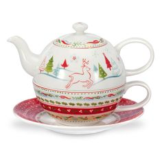 Portmeirion Christmas Wish Tea For One - Amanti