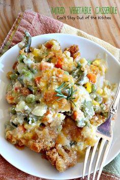 Mixed Vegetable Casserole
