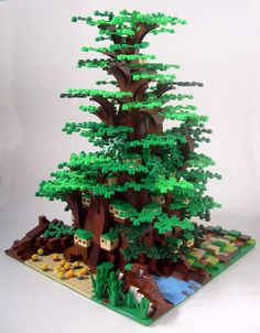 LEGO living in a tree (via bookishboy : The Brothers Brick)