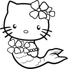 24 Best Hello Kitty Coloring Games Images
