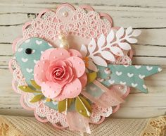 Spring Bird Embellishment