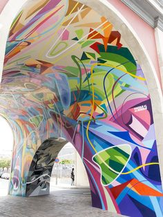El Puente / Proyecto Sumergete en SC / Santa Cruz de Tenerife 2014 / graffiti