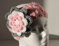Pink Simply Soft Earwarmer/Headband with by SnugableTouches, $10.00