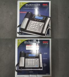 Corded Cordless Phone Combos: Rca Visis 25423Re1 4-Line Expandable Phone System Sealed In Box -> BUY IT NOW ONLY: $99.0 on eBay!
