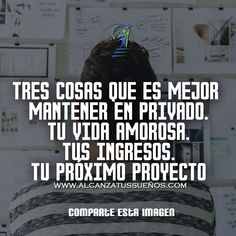 REPINEA SI TE GUSTA Las mejores frases de la vida frases famosas frases sabias frases de animo cortas frases de pasion frases para motivar frases de superacion personal frases chingonas frases de guerreros frases de vida frases celebres frases de reflexio Positive Phrases, Positive Quotes, Inspirational Phrases, Optimism, Peace Of Mind, Just Me, Karma, Me Quotes, Mindfulness