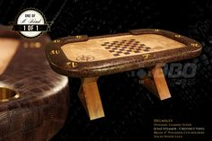 iShowroom Custom Steamer Helmsley Poker Table. Perfect for game night and game night. And it converts into a dining table. So many options!