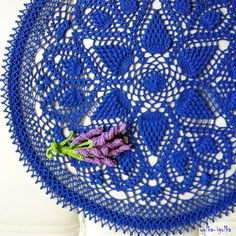 Check out this item in my Etsy shop https://www.etsy.com/listing/467667104/blue-crochet-doily-round-47-cm-185