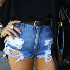 Cool denim short
