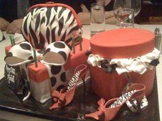 Red velvet designer cake...a perfect gift!  #cake #food #cakes