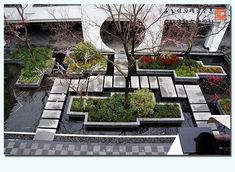 The modern Chinese landscape design