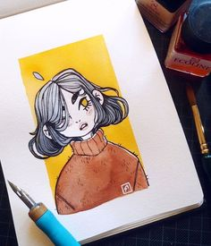 Ideas for art sketchbook pages watercolors Ideas for art sketchbook pages watercolorsYou can find Sketchbook pages and more on our website. Arte Sketchbook, Sketchbook Pages, Sketchbook Ideas, Kunst Inspo, Art Inspo, Cartoon Kunst, Cartoon Art, Pretty Art, Cute Art