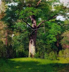 Gray day, 1888 by Isaac Levitan. Impressionism. landscape. Tretyakov Gallery, Moscow, Russia